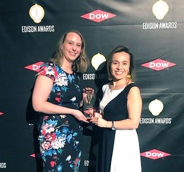 3M Petrifilm Edison Awards Rapid E coli plate